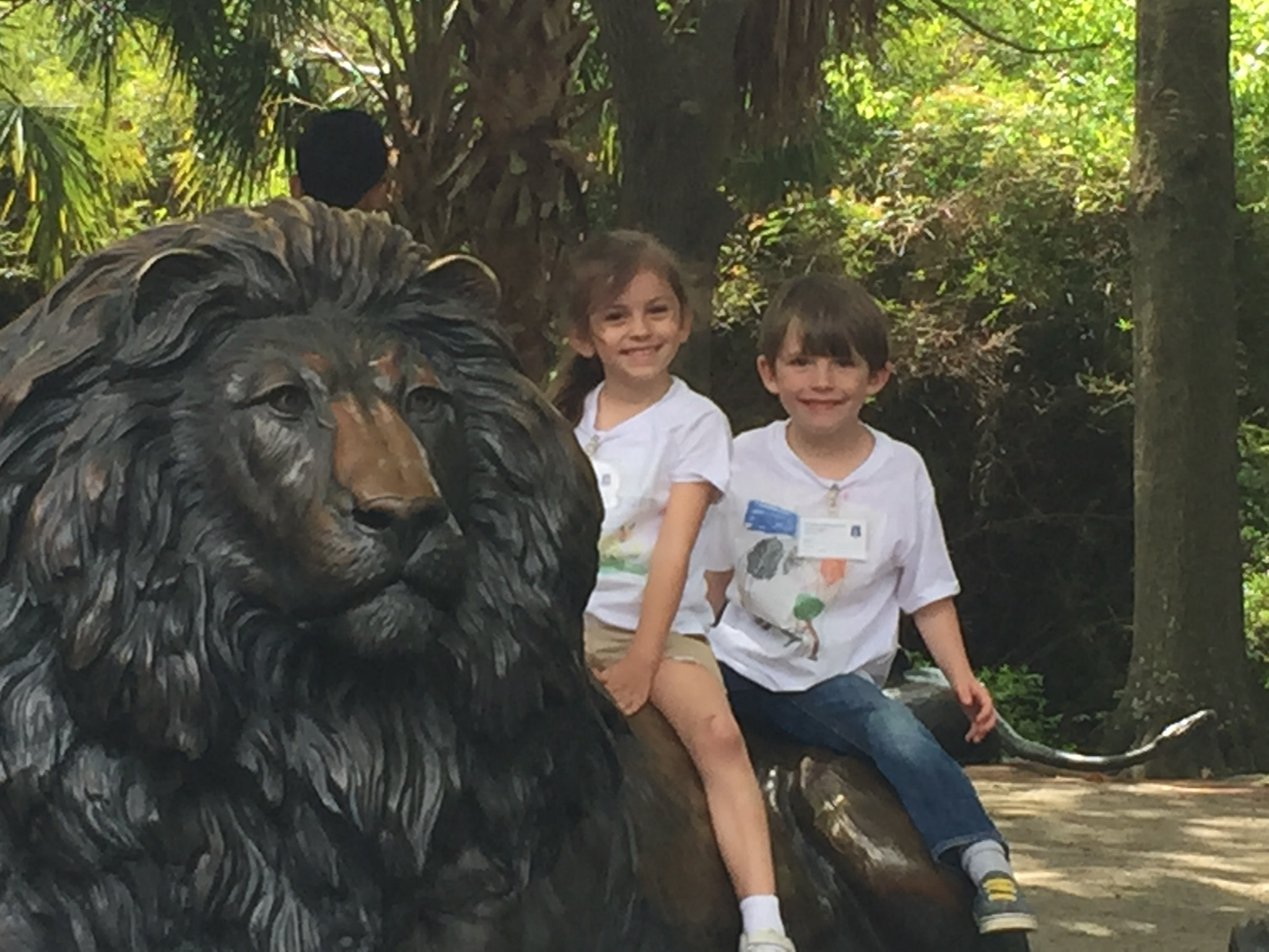 Went on down to the Audubon Zoo… and stayed on Monkey Hill!