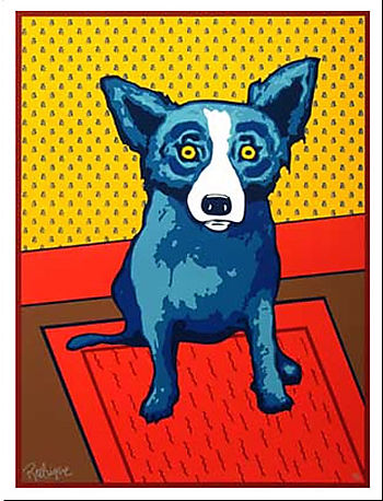 Blue Dog in New Orleans… Sorry, Ty!