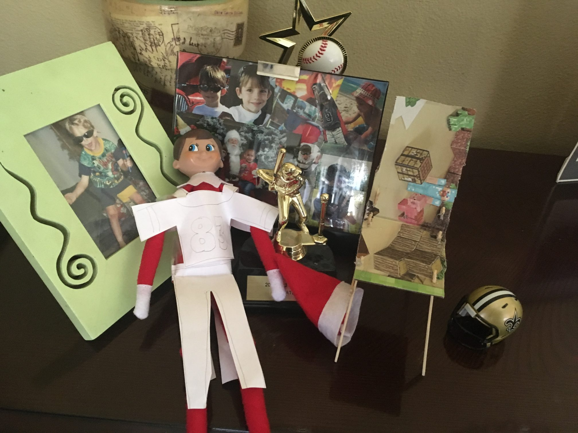 Our Elf on the Shelf… On His Way Back to New Orleans!