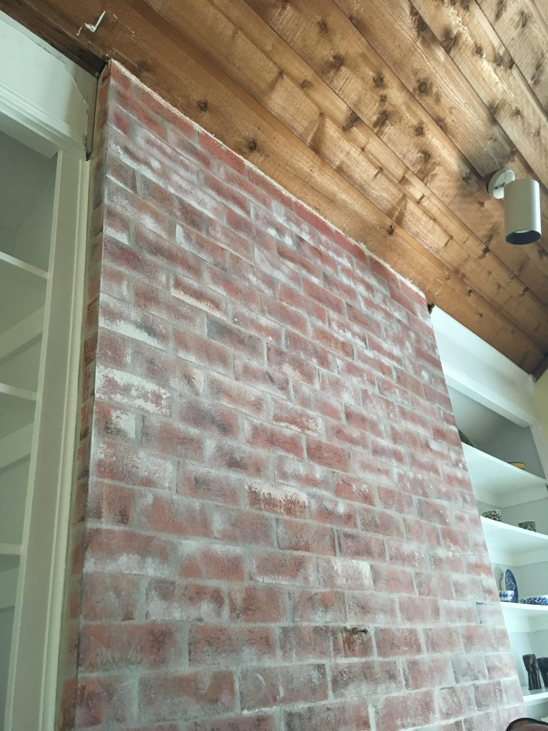 Faux Brick Tutorial